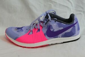Nike-Rival-XC-Cross-Country-Women-039-s-Running-Spikes-Purple-Camo-Pink-MSRP-65-NEW