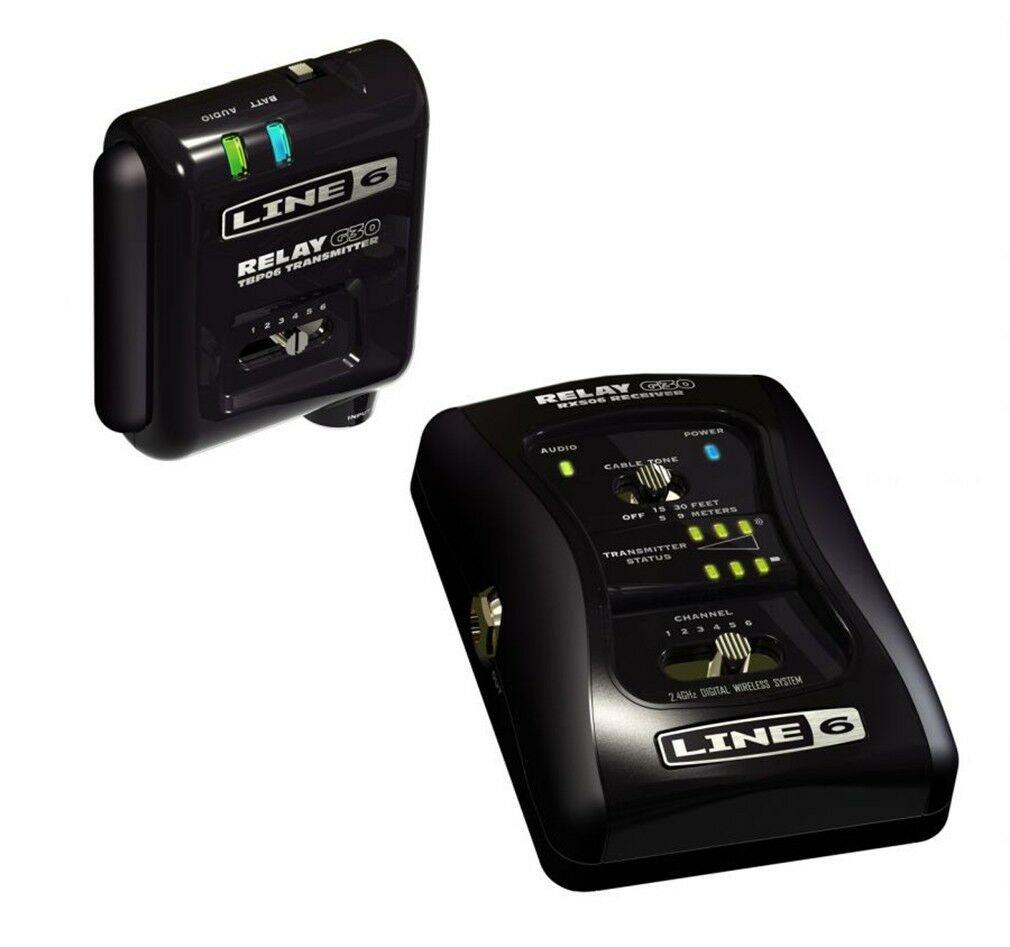NEW Line 6 Relay G30 6 Channel Digital Guitar Wireless System Receiver
