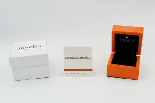 925 Silber Herz Kristall Zirkonia Anhänger mit Kette Halskette LED Holzbox