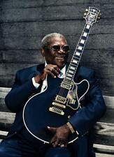 Bb King Poster Guitar 24in x36in