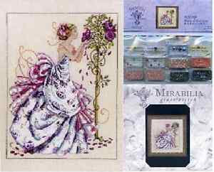 MIRABILIA-Cross-Stitch-PATTERN-and-EMBELLISHMENT-PACK-Roses-of-Provence-MD124