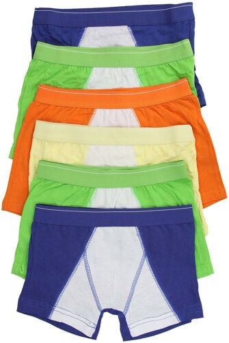 ToBeInStyle Boys/' Pack of 6 Cotton Boxer Briefs