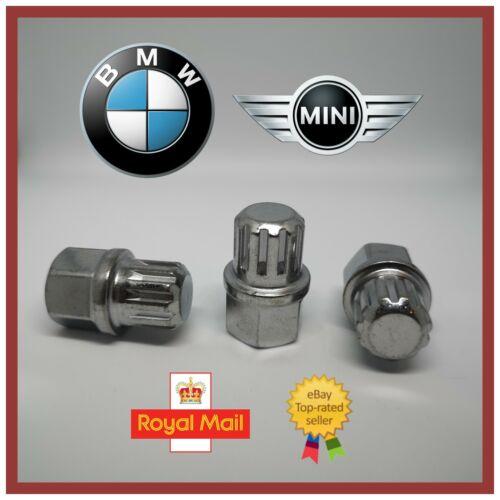 B20//9 Coste Spline NUOVO BMW Mini Bloccaggio Dadi Ruota Chiave N