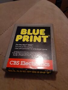 BLUEPRINT by CBS for ATARI 2600 ▪︎ CARTRIDGE ONLY ▪︎FREE SHIPPING ▪︎