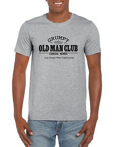 """""""Grumpy Old Man Club """" Funny Novelty Grandad / Dad Father ..."""