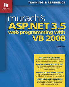 Very-Good-Murach-039-s-ASP-NET-3-5-Web-Programming-with-VB-2008-Murach-Training-amp