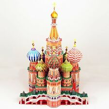 Daron 3D St. Basil's Cathedral Puzzle Fun Historical architecture model 173 pc
