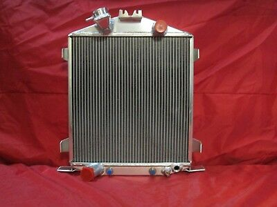For 32 Lo-Boy Low Boy Street//Rat Rod Chopped Grill-Shell Cooling Racing Radiator