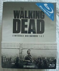 COFFRET BLU-RAY NEUF : THE WALKING DEAD SAISONS 1 à 7 - HORREUR ZOMBIES