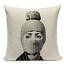 thumbnail 16 - Fornasetti Style Pillow Case Cover Sofa Home Textile Vintage Cushion Linen Decor