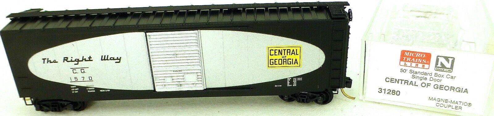 50 Standard Boxcar Central of Georgia 1570 Micro Trains Line 31280 N 1 160 C å