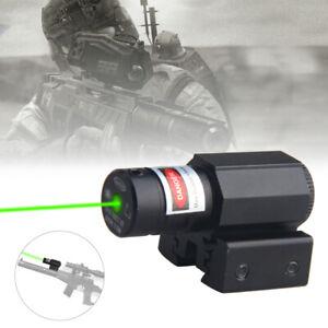 Rot Dot Laser Sight Laservisier Gewehr Pistole Für 20mm Weberschiene Mini Grün