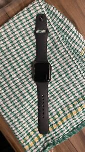Apple Watch Series 5 40mm Space Gray Aluminium Case with Black Sport Band - S/M