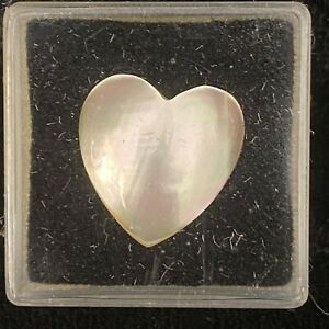 PEARL MABE SHELL HEART FOR 15 MM MOUNTING AS SHOWN 1