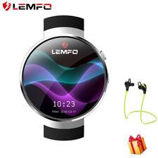 2018 LEMFO LEM7 Montre Intelligente 4G Network WIFI GPS 16G Cardiofréquencemètre