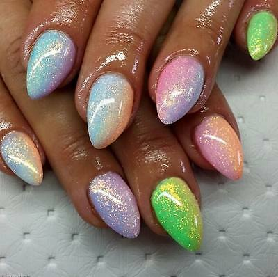 Nail & Body Art Glitter Mermaid Effect Holographic Dust Ultra Fine Magic Glimmer