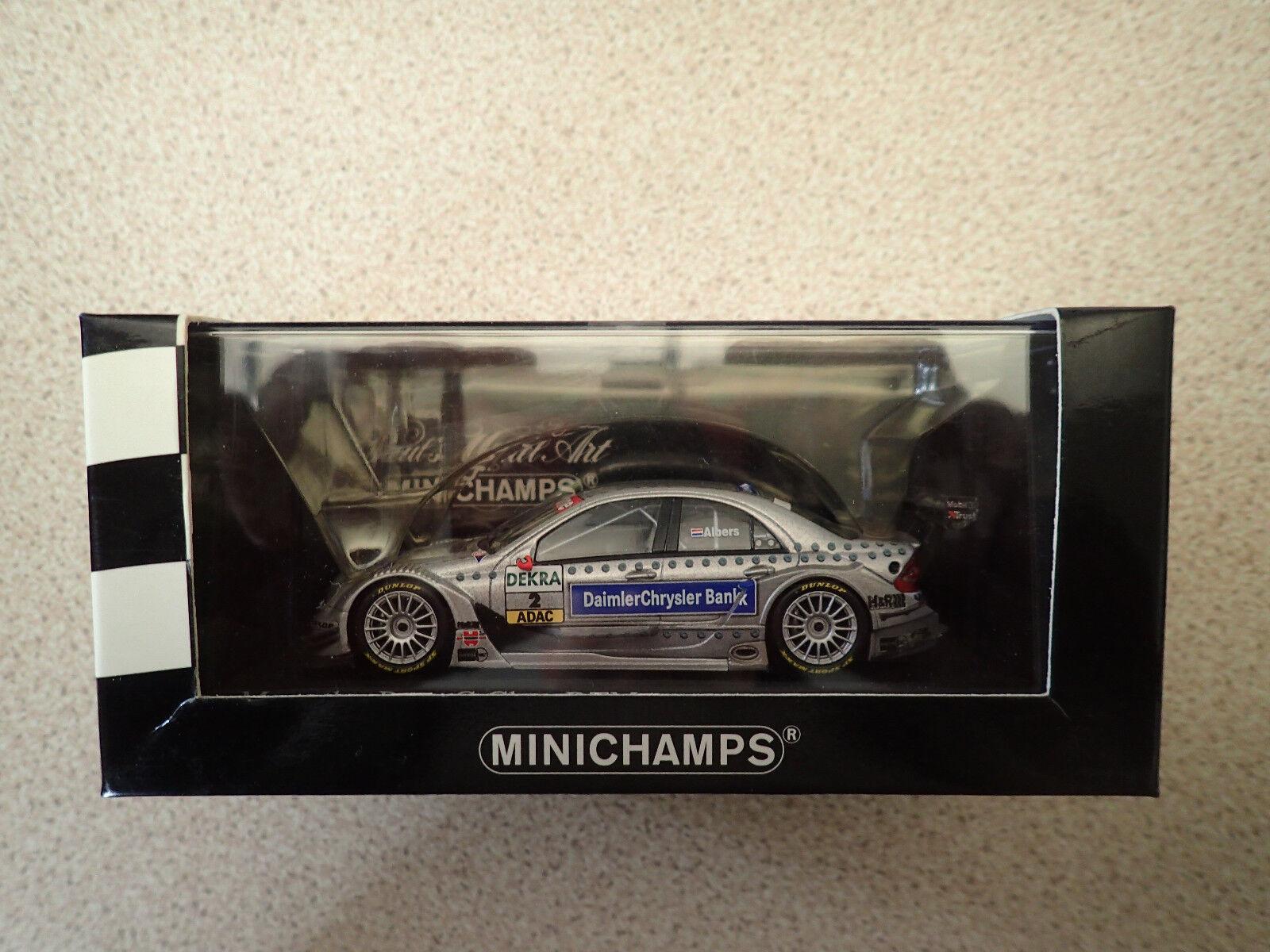 Ltd Edn Minichamps 1 43 400 043402 Mercedes C-Class DTM 2004 Team AMG