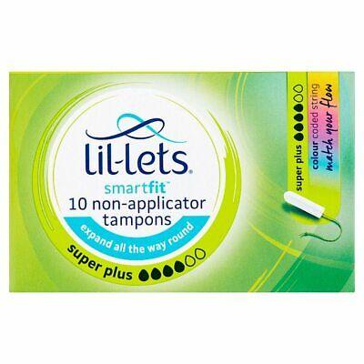 Pack de 3/x 14/Lil-Lets Super Plus extra SmartFit Tampon con non-applicator