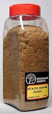 Woodland Scenics FL632 Static Grass Flock Harvest Gold 32 oz Shaker - NIB