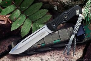 Kizlyar Supreme Maximus Fixed Blade Tactical Military Knife Russian