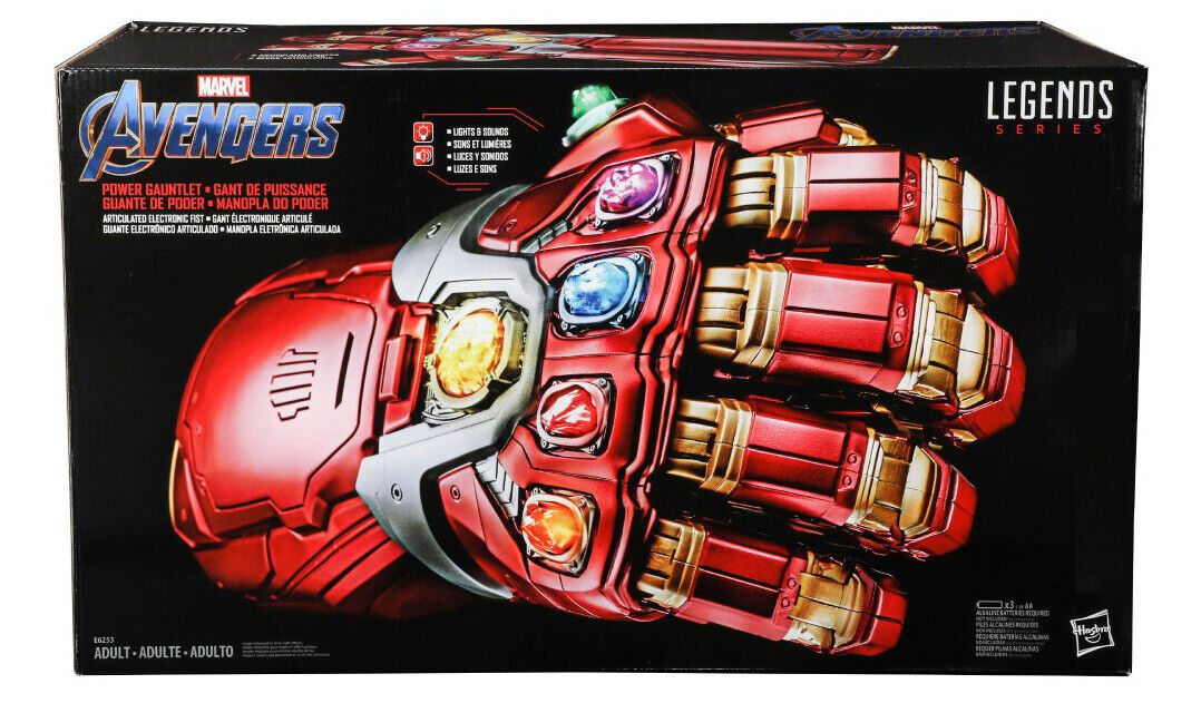 Marvel leggende Avengers finale di potenza elettronico Gauntlet in magazzino