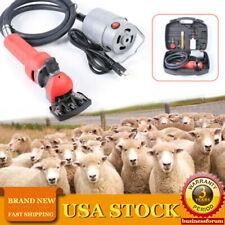 750w Electric Flexible Shaft Sheep Goat Shearing Machine Wool Clipper Usa Stock
