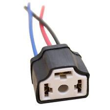 1Pcs H4 9003 Ceramic Wire Wiring Car Head Light Bulb Harness Socket Plug!!