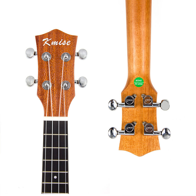 kmise concert ukulele hawaii guitar spruce mahogany 18. Black Bedroom Furniture Sets. Home Design Ideas
