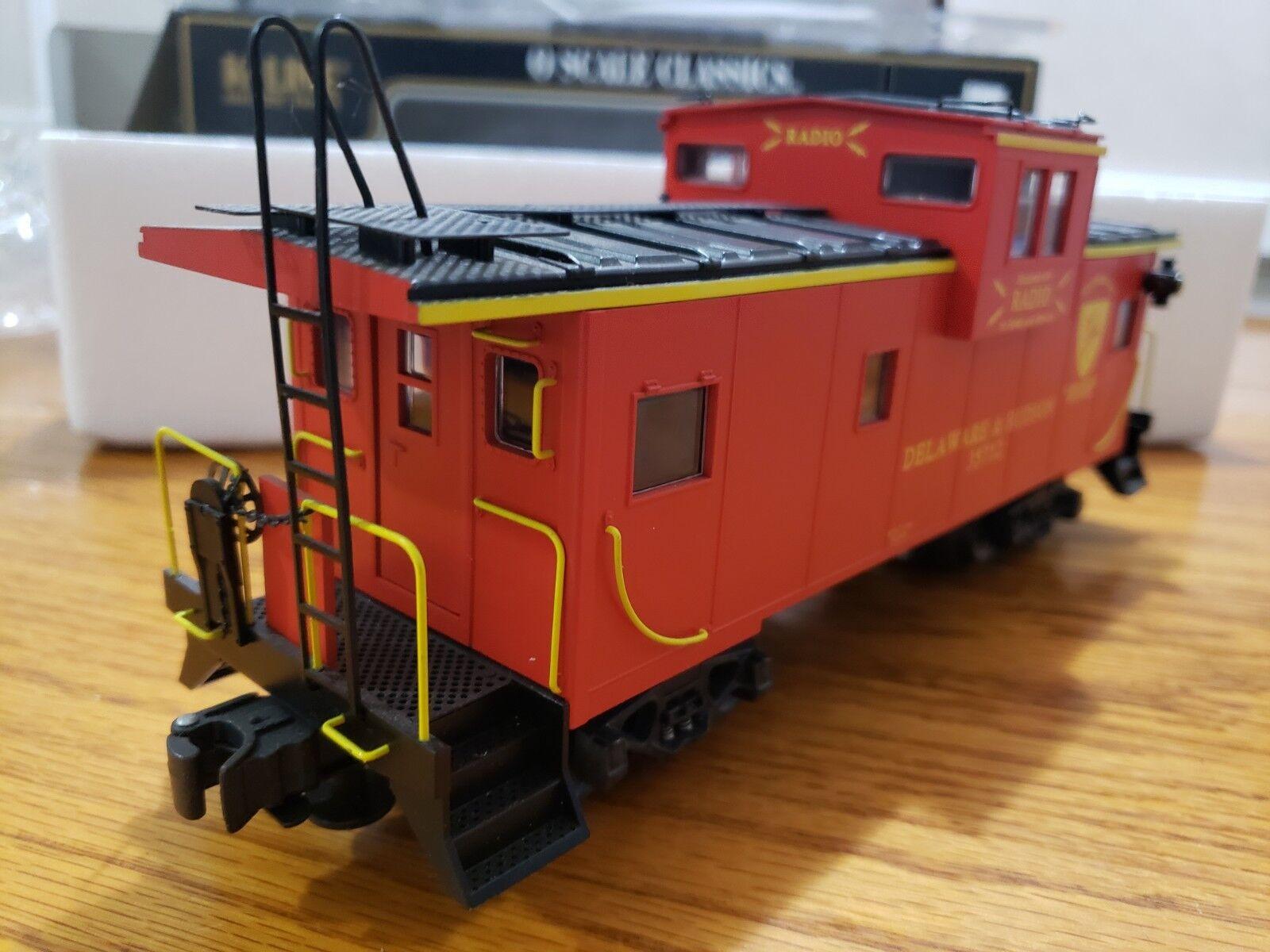 K-Line Delaware & Hudson radio visión extendida furgón de cola 0 escala O27 K613-1541