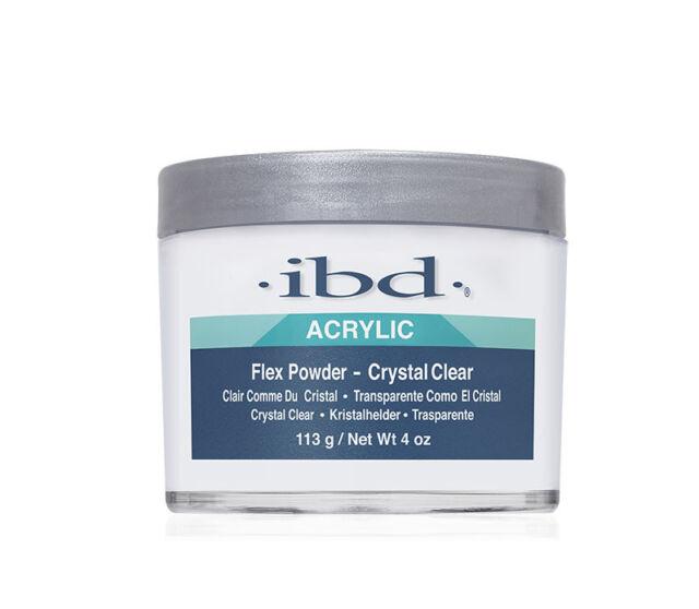 Ibd Nail Flex Acrylic Powder Crystal Clear 4oz #71829 Health & Beauty