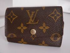 Auth Louis Vuitton Multicles 6 Key Case Monogram M62630 Brown