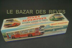 DINKY TOYS FRANCE.  Boite vide d'origine pour Autobus Parisien. REF: 889.