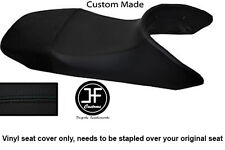 BLACK AUTOMOTIVE VINYL CUSTOM FITS HONDA TRANSALP XL 650 SEAT COVER ONLY