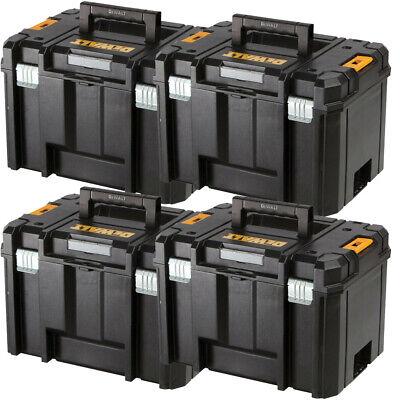 DEWALT DWST1-71195 TSTAK VI Deep Tool Storage Case Heavy Duty 23L-No Tray Black