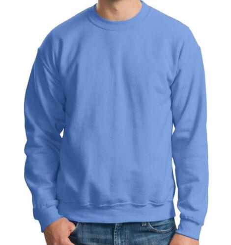 Champion Big Men Cotton Blend Crewneck Pullover Solid Plain Blank Sweatshirt
