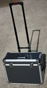 Pro-Rolling-Aluminum-Makeup-Case-Suitcase-Train-Box-Wheeled-Storage-Lockable