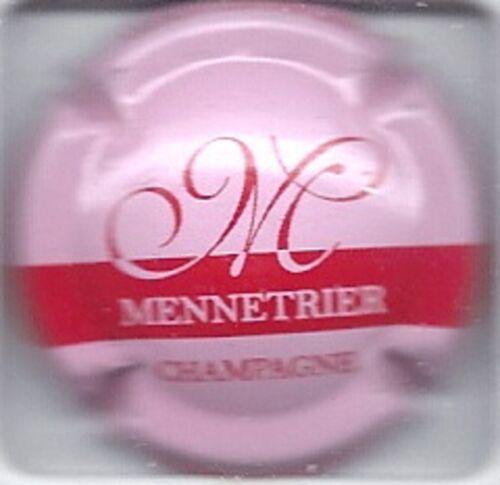 Capsule de champagne MENNETRIER Rose et rouge NEW