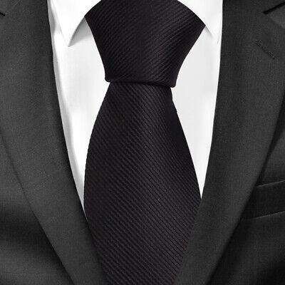BomGuard Krawatte 10cm Herrenkrawatte breite Krawatte einfarbig Schlips extrabreite Krawatte