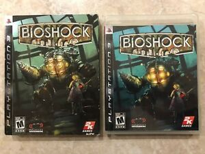 Bioshock-Sony-Playstation-3-PS3-Complete-w-Case-amp-Manual-w-Sleeve