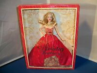 2014 Mattel Holiday Barbie Doll Dolls Toy Toys Misb