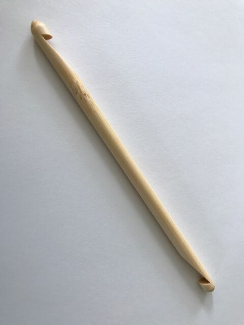 Double Ended Tunisian Bamboo Crochet Hook Size J 60mm Us 10 Needle