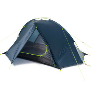 Image is loading NEW-1-2-Man-PERSON-Lightweight-C&ing-Hiking-  sc 1 st  eBay & NEW 1 2 Man PERSON Lightweight Camping Hiking Tent 1.37kg ...