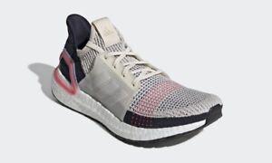 buy popular 7edd0 e5717 Image is loading Adidas-Running-Ultra-Boost-19-Chalk-Brown-Ultraboost-