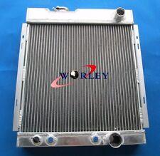 3 ROW Aluminum Radiator for Ford MUSTANG V8 289 302 WINDSOR 1964 1965 1966  56mm