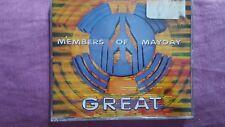 MEMBERS OF MAYDAY - GREAT. CD SINGLE 3 TRACKS