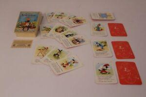 Quartett-Walt-Disney-s-Kunterbunt-Karten-Spielkarten-Kartenspiel-playing-cards