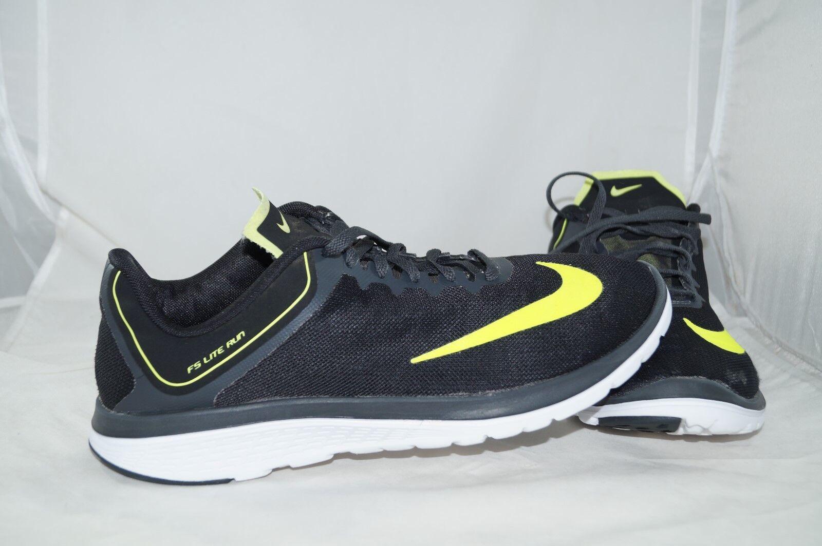 Nike FS Lite Run 4 Trainers 44   US 10 Neongelb Laufschuhe Sportschuhe    | Schönes Aussehen