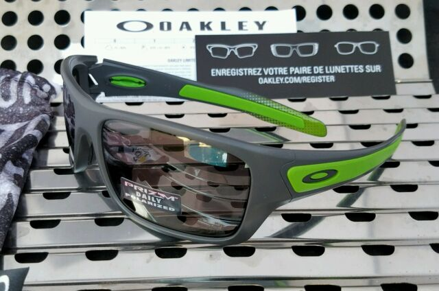 Oakley Turbine Sunglasses Matte Dark Grey Prizm Tour De France 9263