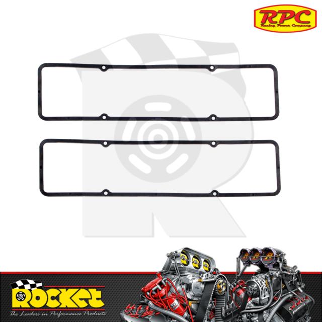 RPC BLK Valve Cover Gaskets 55-86 265 283 305 327 350 V8 SB Fits Chev - RPCR7484