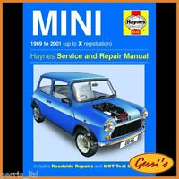 0646 Haynes Mini (1969 - 2001) Petrol up to X Service Manual